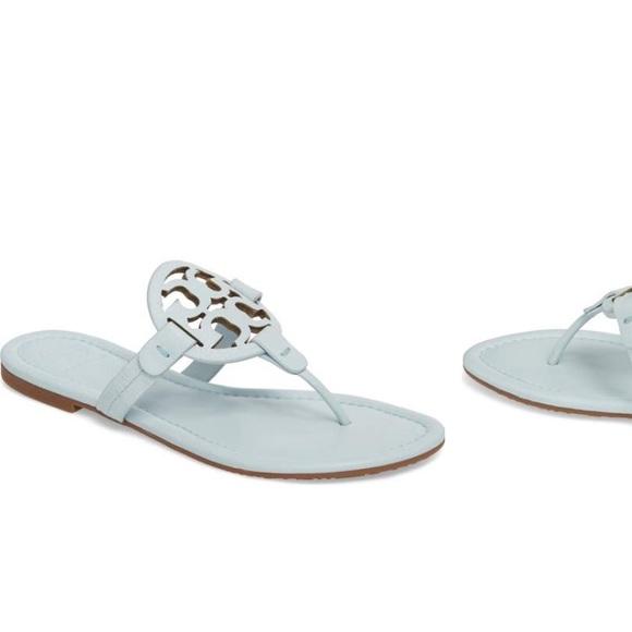 9c12470af0299 Tory Burch  Miller  Flip Flop Seltzer Size  7 M